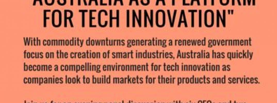 Australia as a platform for tech innovation