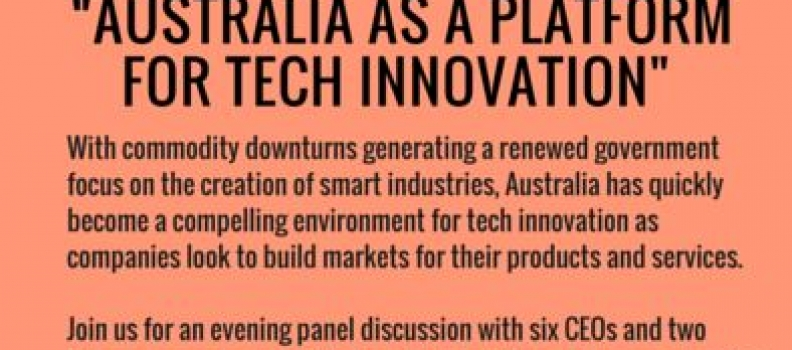 Australia as a platform for tech innovation